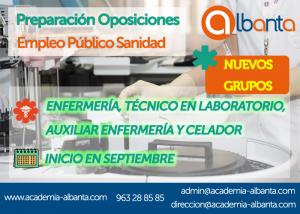 cartel oposicion cursos septiembre sanidad copia